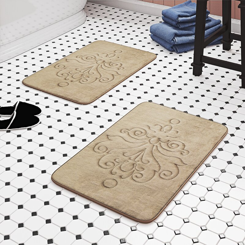 memory foam bath mats 36x24