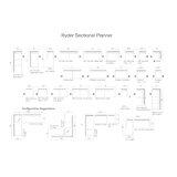Ryder Symmetrical Modular Sectional by Van Gogh Designs