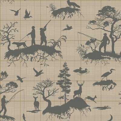 Toile Wallpaper House Amp Home