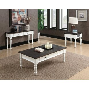 Mulcahy 2 Piece Coffee Table Set by Beachcrest Home