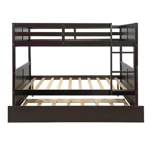 Nowthen Twin over Full Bunk Bed with Trundle by Harriet Bee