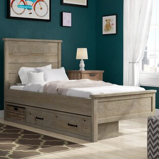 Stella Storage Panel Bed
