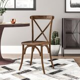 Littleton Cross Back Weathered Style Chair by Trent Austin Design®