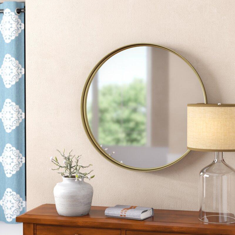 Three Posts Buena Vista Accent Mirror Reviews Wayfair Ca