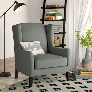Wolfarth Wingback Chair by Birch Lane™ Heritage #1