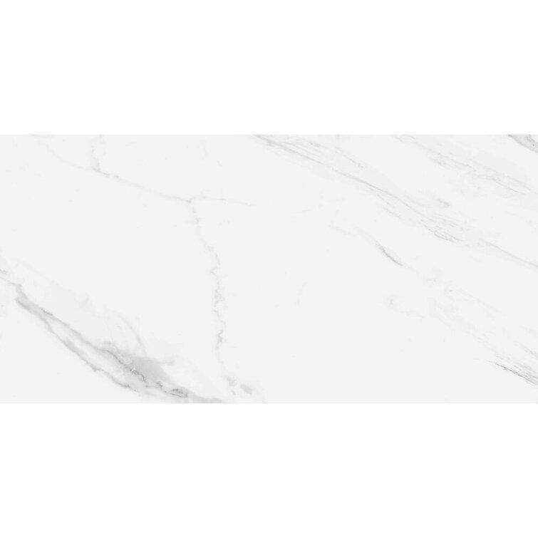 """Cheyenne 12"""" x 24"""" Porcelain Marble Look Wall & Floor Tile"""