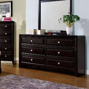 Mattapan 6 Drawer Double Dresser
