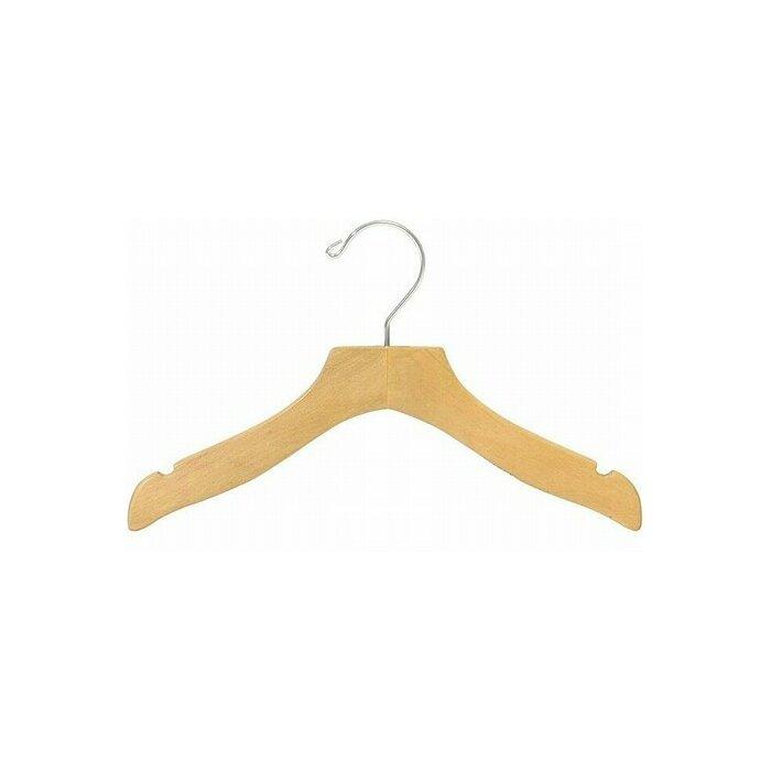 25 Only Hangers Childrens Clear Plastic Dress Hanger 14