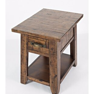 Reddin End Table with Storage by Loon Peak