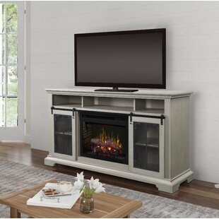 Olivia TV Stand for TVs up to 75 with Fireplace by Dimplex