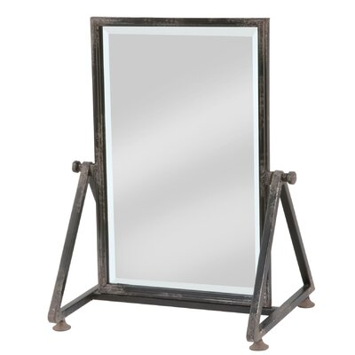 Hudson Beveled Distressed Cheval Mirror Williston Forge