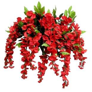 Silk flower hanging baskets wayfair save mightylinksfo