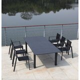 Ingram Extendable Metal Dining Table