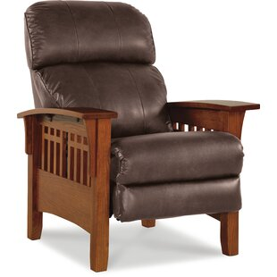 El Dorado High Leg Leather Manual Recliner