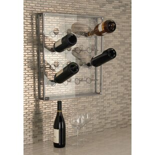16 Bottle Wall Mounted Wine Bottle Rack b..