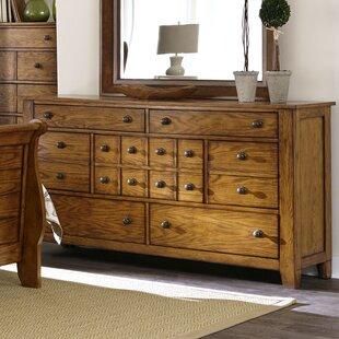 Grandpas Cabin 7 Drawer Standard Dresser by Millwood Pines