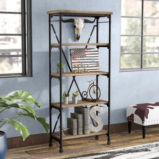 17 Stories Nia Etagere Bookcase