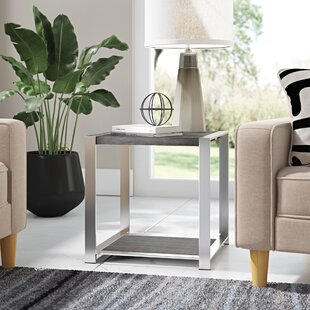Arica End Table by Ivy Bronx Find