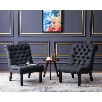 George Oliver Lederman Upholstered Side Chair Reviews Wayfair