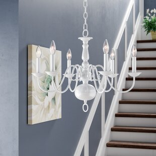 Allensby 6-Light Candle Style Chandelier