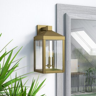 Demery 3-Light Outdoor Wall Lantern