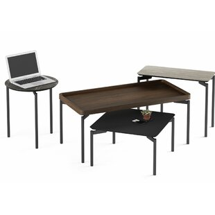 BDI Radius 4 Piece Coffee Table Set