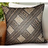 Maestas Geometric Luxury Indoor/Outdoor Throw Pillow