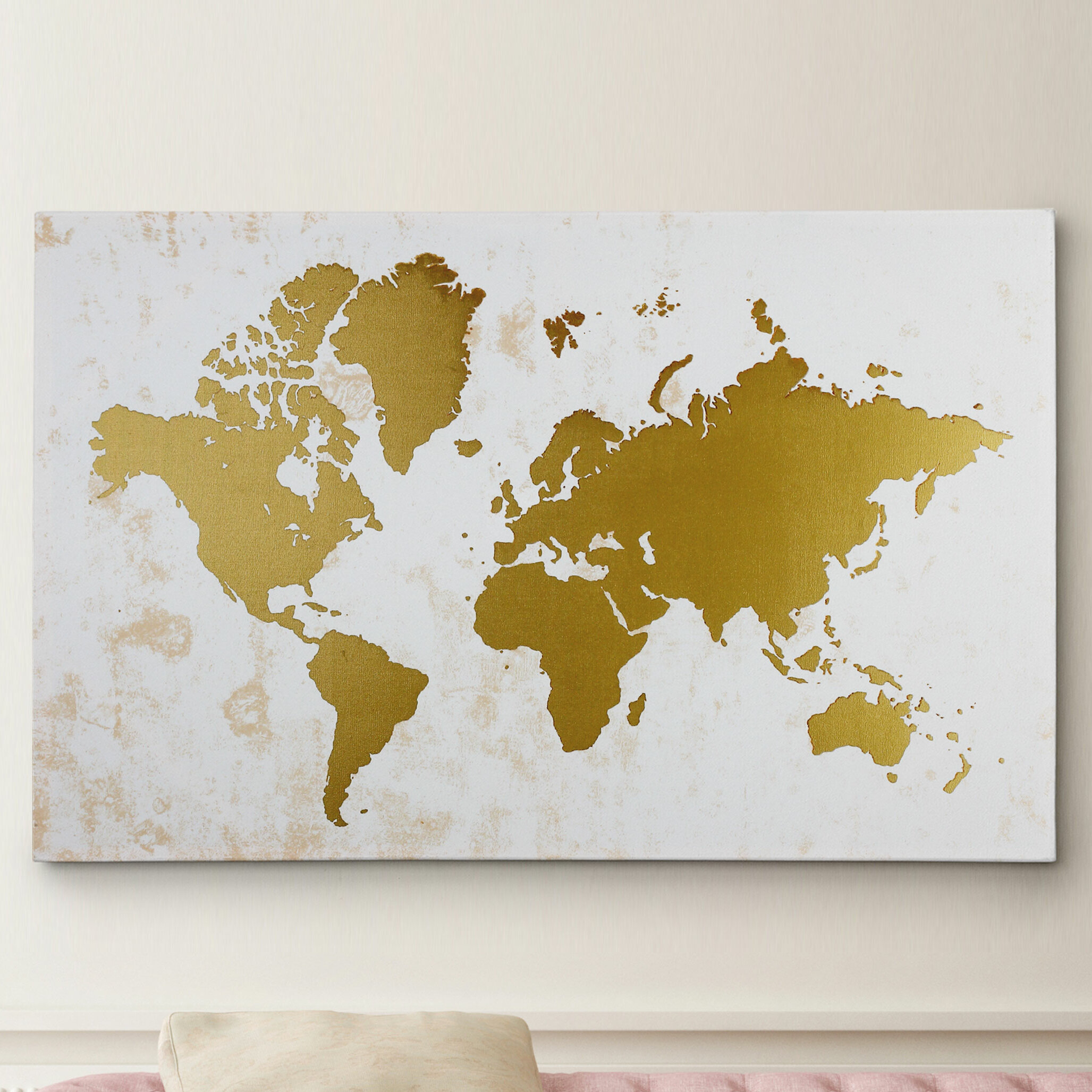 Metallic Wall Art You\'ll Love | Wayfair