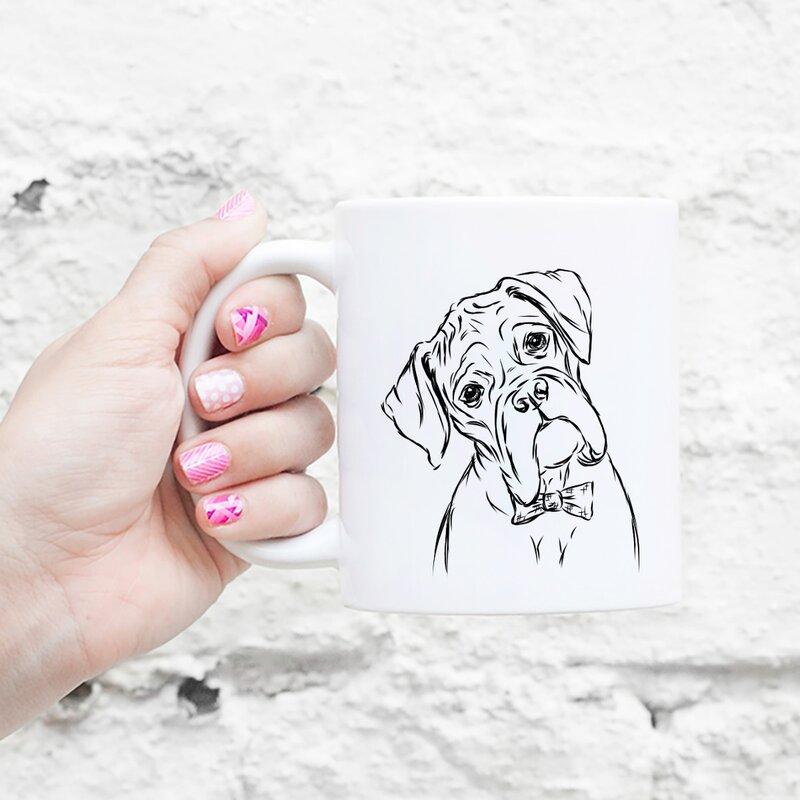 Croy Boxer Dog Coffee Mug