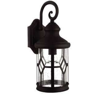Best Reviews Stockton 1-Light Outdoor Wall Lantern By Charlton Home