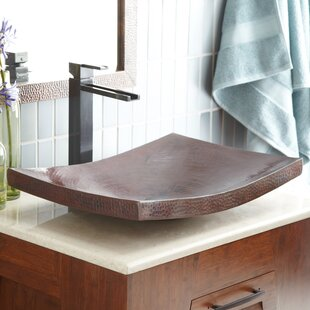 Native Trails, Inc. Maestro Metal Rectangular Vessel Bathroom Sink