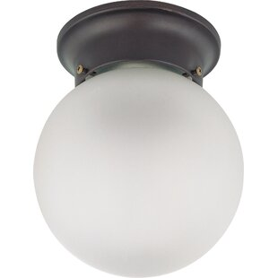 Tovey 1-Light Semi Flush Mount by Charlton Home