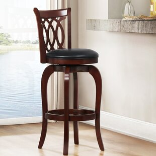 Terranova 43 Swivel Bar Stool Charlton Home