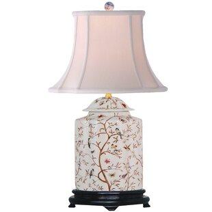 Porcelain Scallops 22 Table Lamp