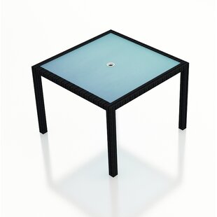 Azariah Glass Dining Table by Orren Ellis