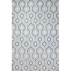 Chester Hand-Tufted Light Blue Area Rug