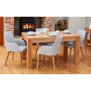 Arredondo Dining Set With 4 Chairs By Rosalind Wheeler