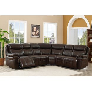 Westerly Leather Reclining Sectional