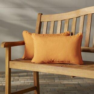 Canvas Outdoor Sunbrella Lumbar Pillow (Set of 2)