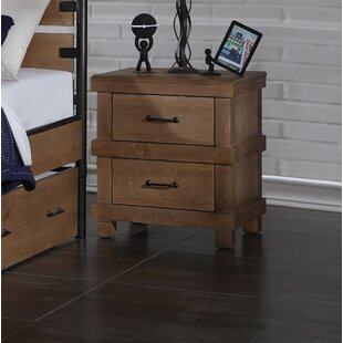 Price comparison May 2 Drawer Nightstand by Harriet Bee Reviews (2019) & Buyer's Guide