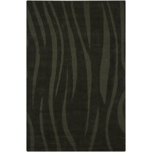 Read Reviews Romel Balck Abstract Area Rug By Orren Ellis