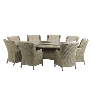 Rysing 8 Seater Dining Set With Cushions Image
