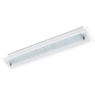 Latitude Run Arla 1-Light Flush Mount