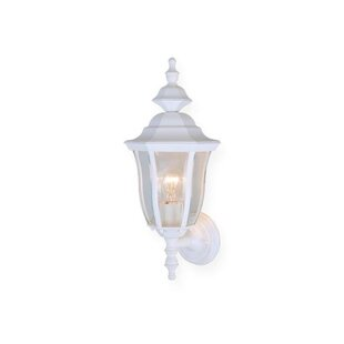Best Reviews Faulks 1-Light Outdoor Sconce By Charlton Home