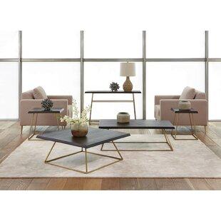 Hathor 4 Piece Coffee Table Set by Brayden Studio
