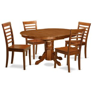 Spurling 5 Piece Dining Set August Grove