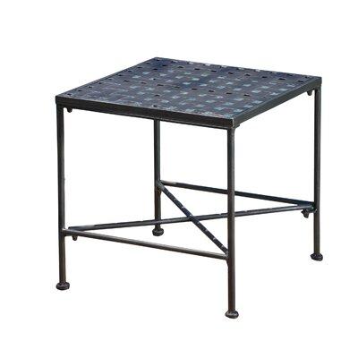Hanselman Metal Side Table by Alcott Hill