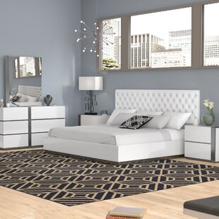 Orren Ellis Kajal Platform 5 Piece Bedroom Set