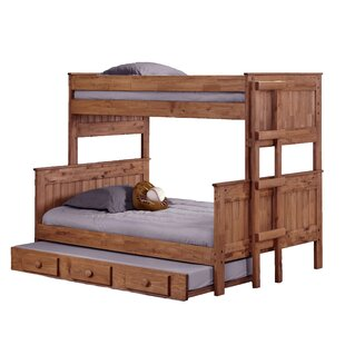 Big Save Choquette Stackable Twin Over Full Bunk Bed with Trundle by Harriet Bee Reviews (2019) & Buyer's Guide