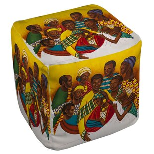 Manual Woodworkers & Weavers Family Photo Pouf